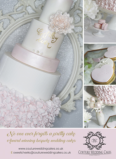 Couture Wedding Cakes by Sweetcheeks LTD